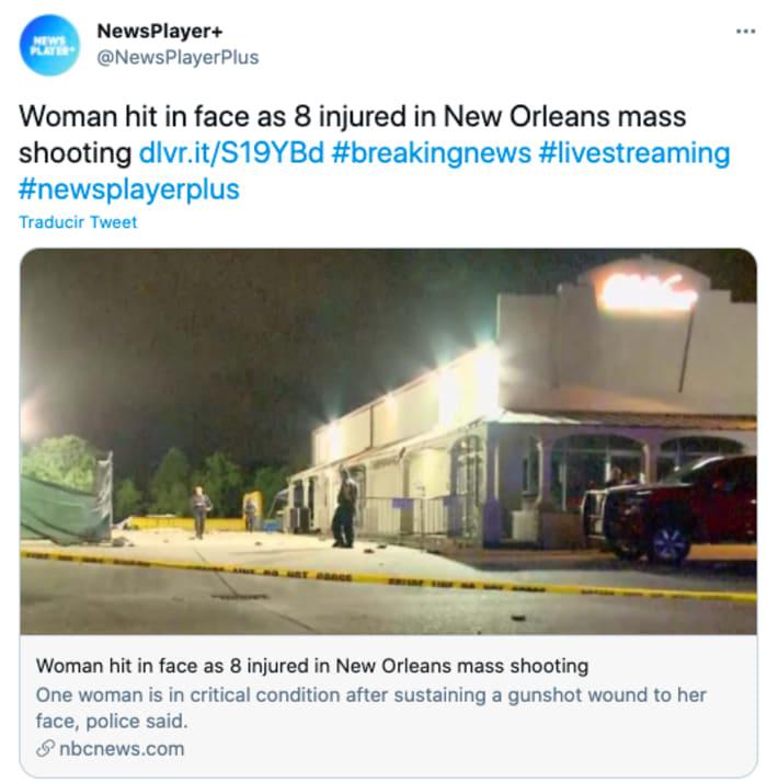 Dos tiroteos