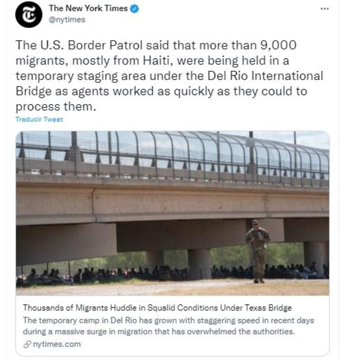 Culpan a Biden de la confusión en la frontera