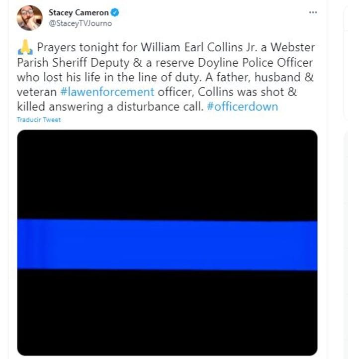 murió policía