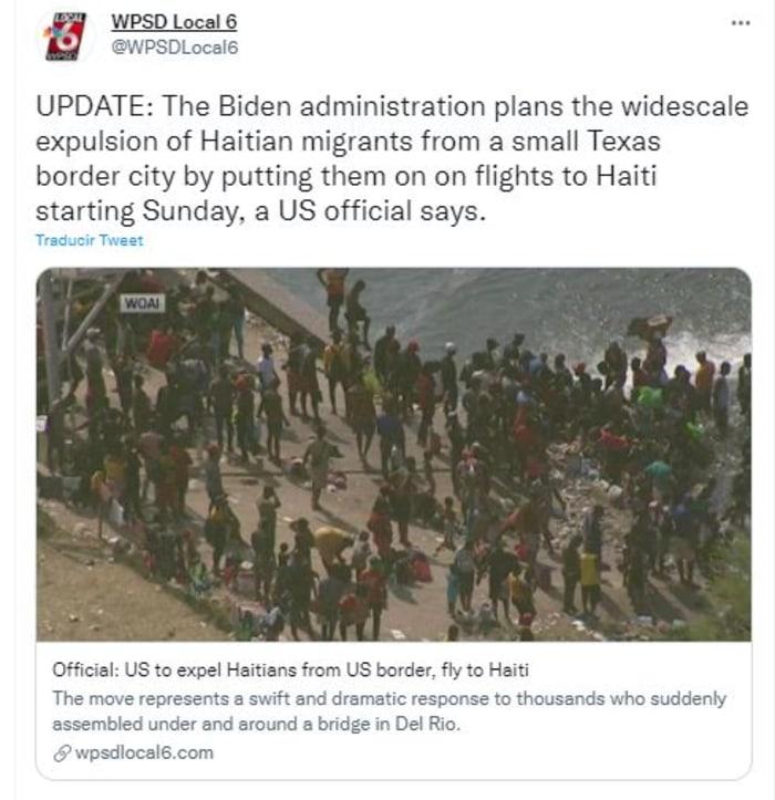 EEUU deportará