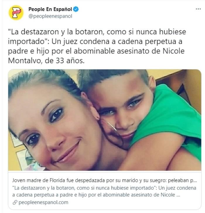 Mujer asesinada por esposo.