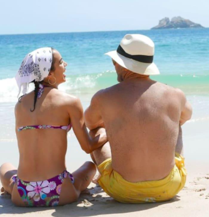 Eduardo Capetillo y su esposa (IG)