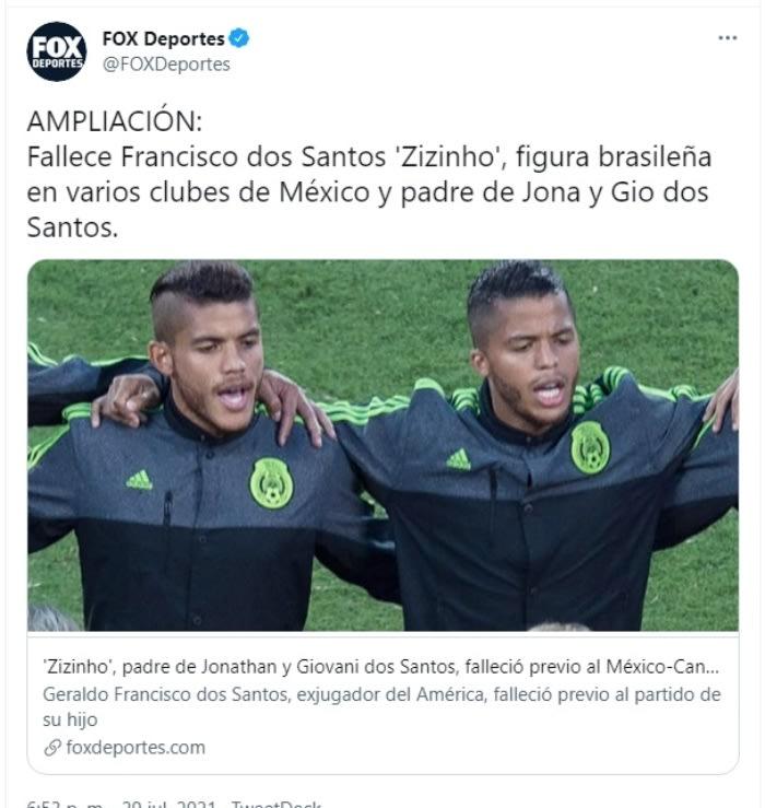 Muere futbolista Zizinho