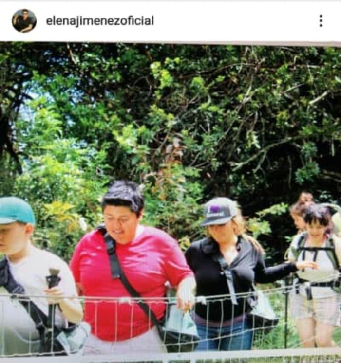 Elena Jiménez ya había compartido otra foto con Jenni Rivera