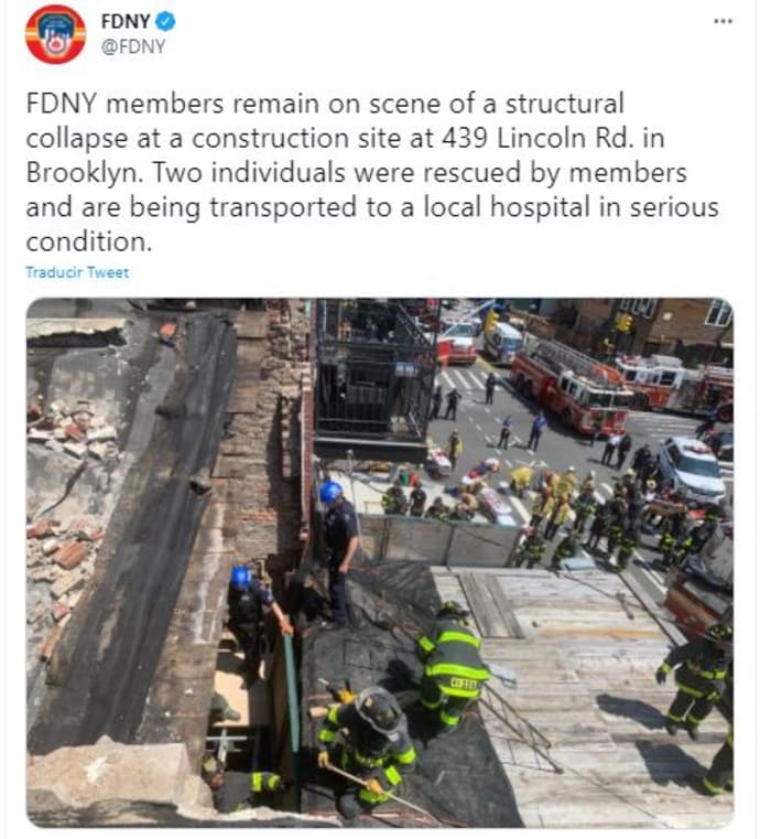 colapso de construcción