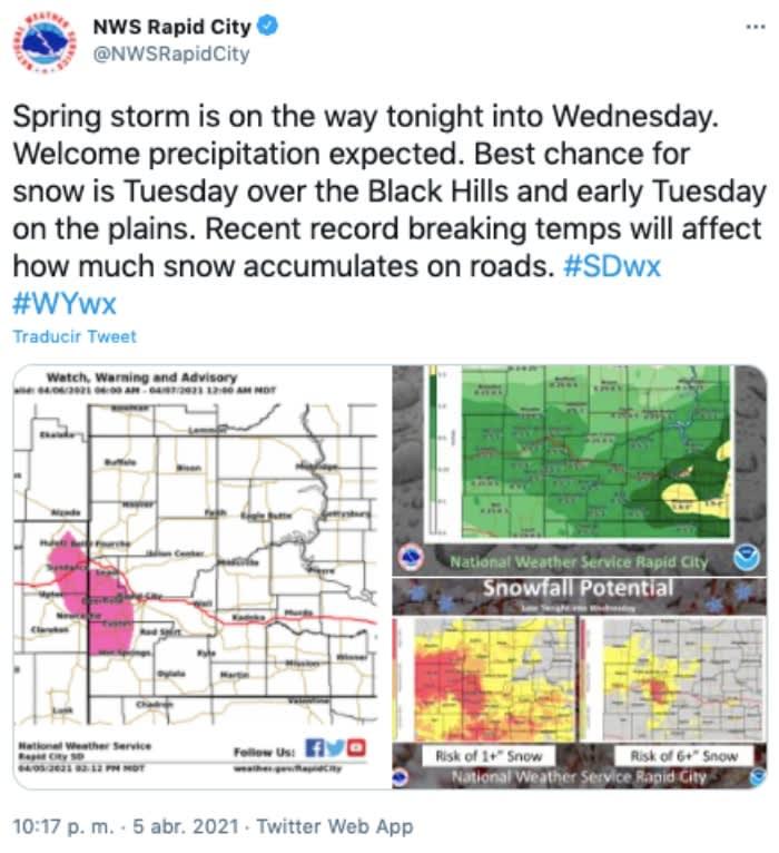 advertencia tormenta
