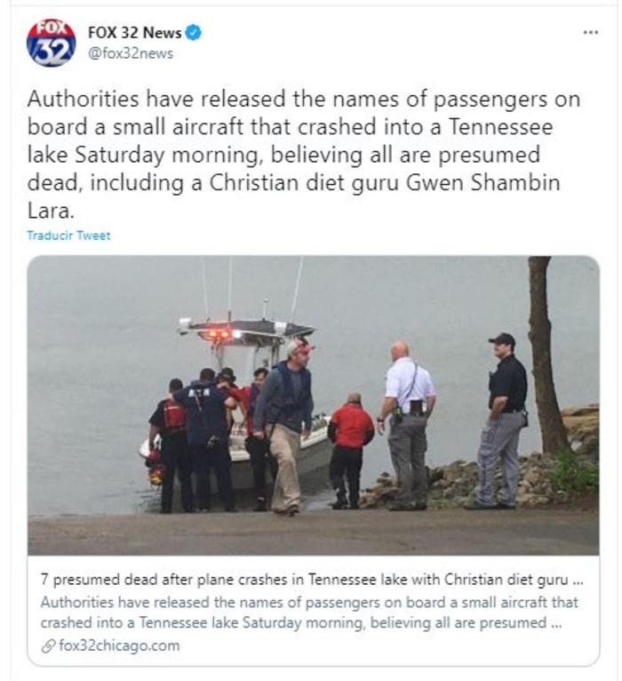 se estrelló avioneta