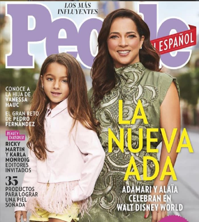 """Me siento en paz conmigo misma"": Adamari López"