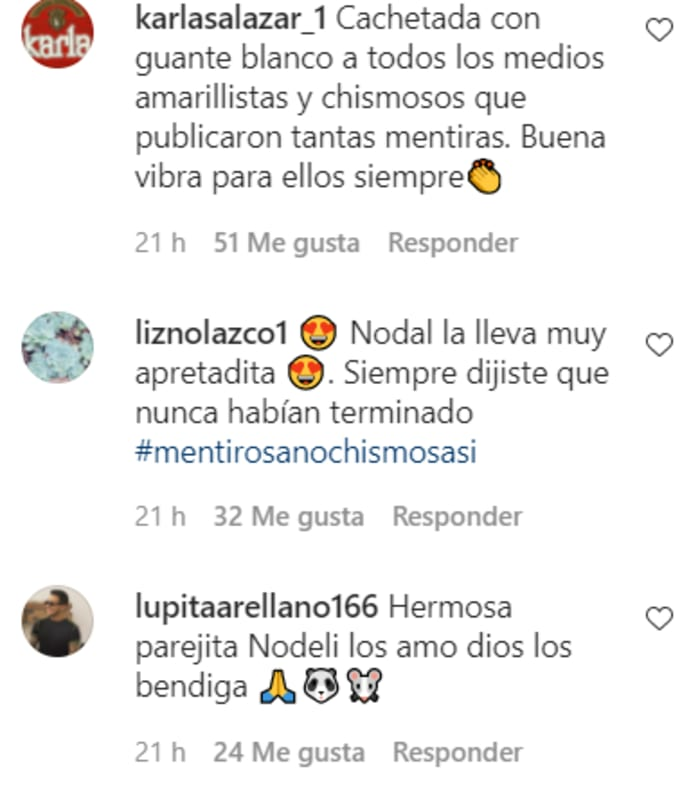 """""""Very close together""""; A photograph appears that proves that Belinda and Christian Nodal did not break up"""