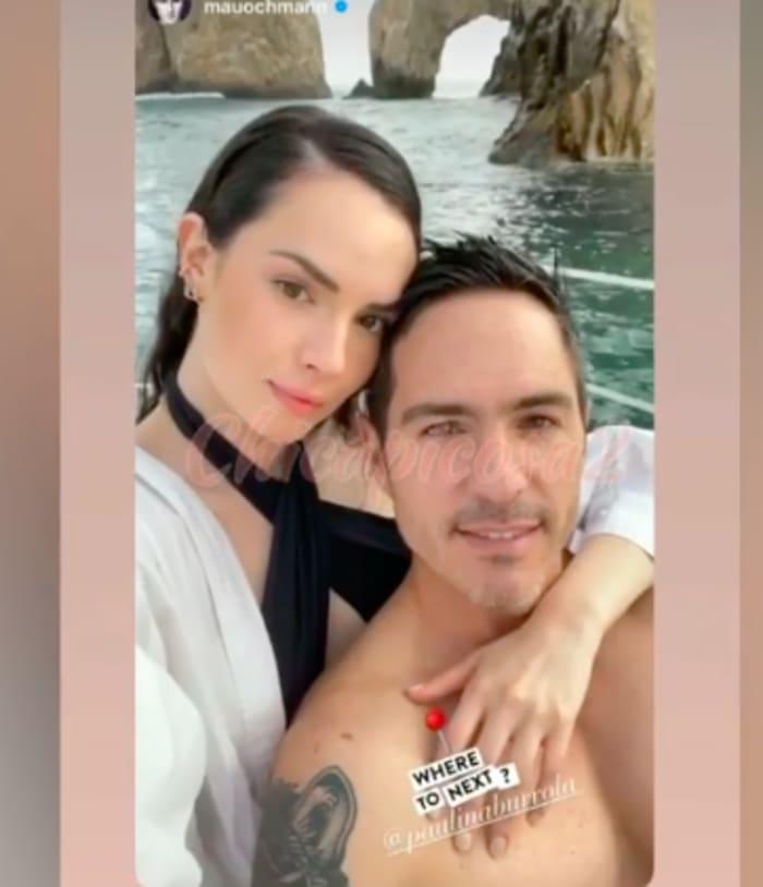 Mauricio Ochmann supuesta nueva novia Paulina Burrola