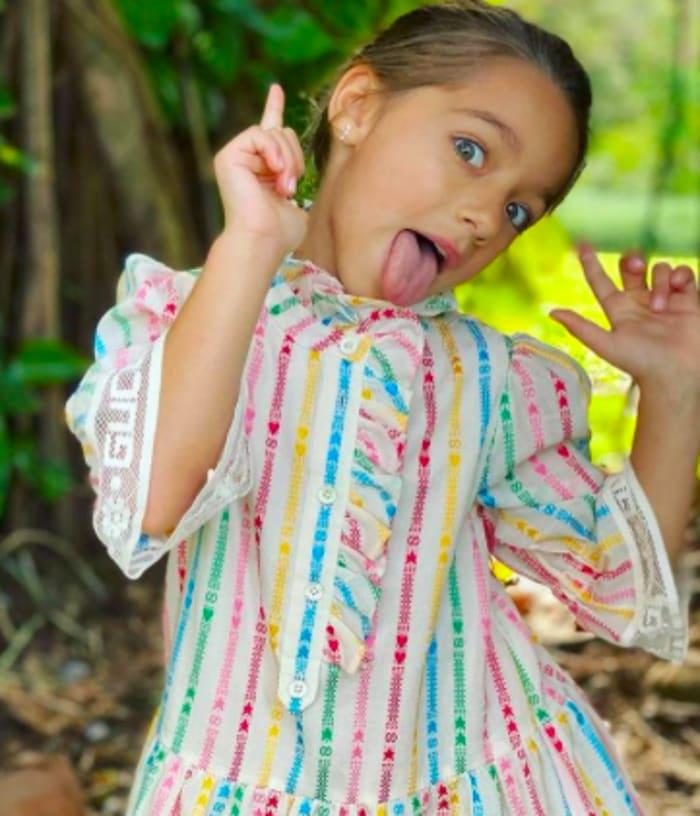 Alaïa, hija de Toni Costa