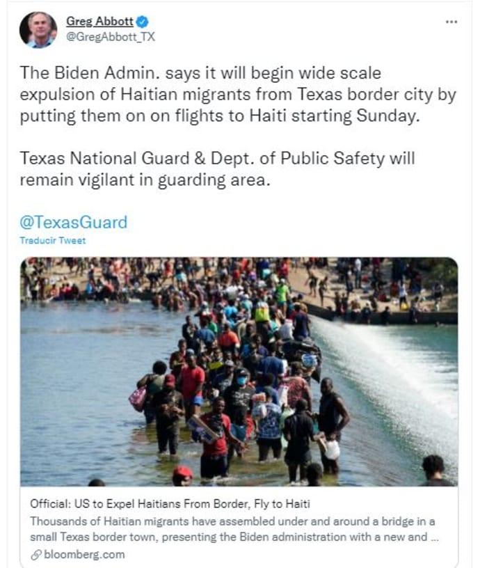 Critican a Biden por descontrol en la frontera