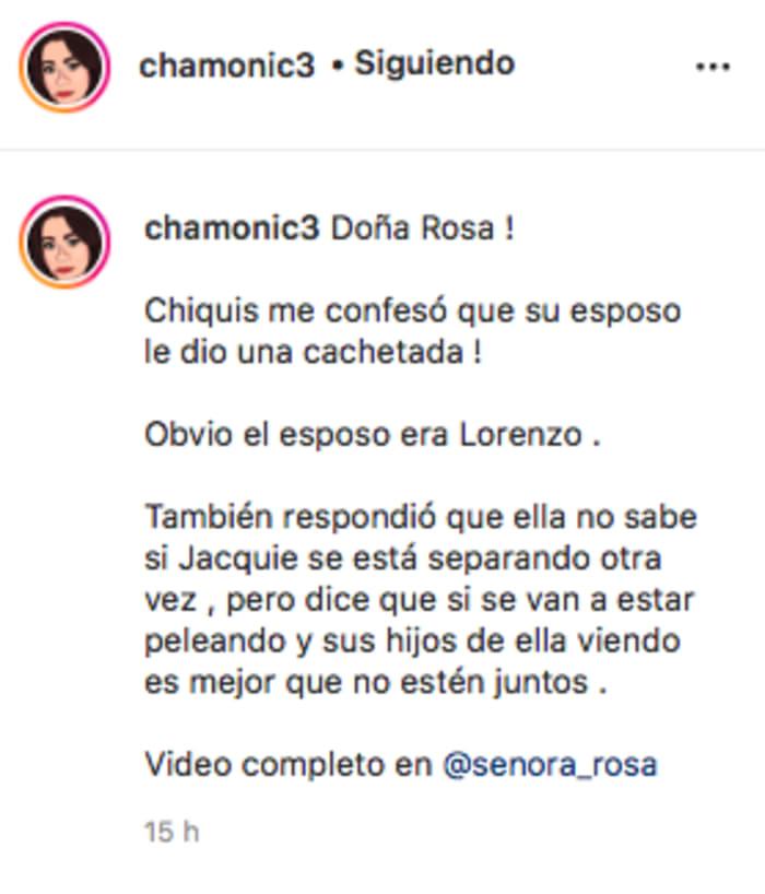 Lorenzo Méndez golpeó a Chiquis Rivera