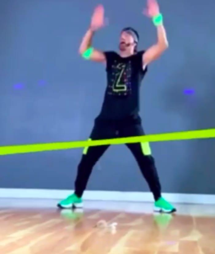 El bailarín se dedicará a sus clases de Zumba