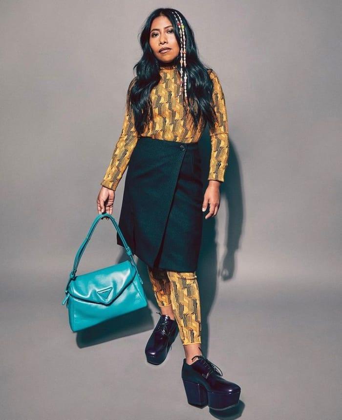 Yalitza Aparicio modela para una reconocida marca