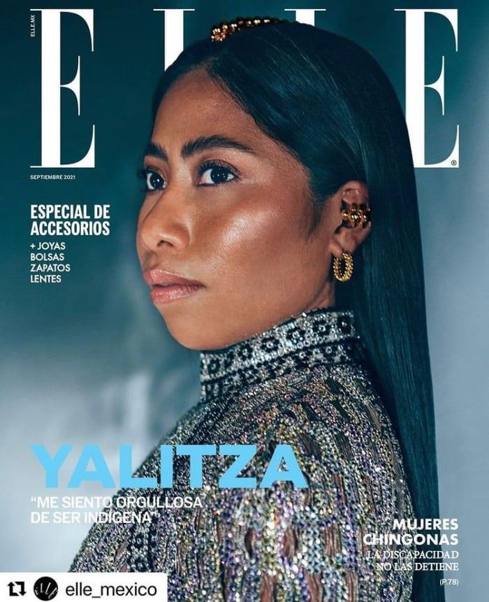 Las opiniones se dividen; Yalizta Aparicio modela para la marca Prada