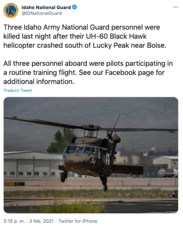 Cae helicóptero Nuevo León 5