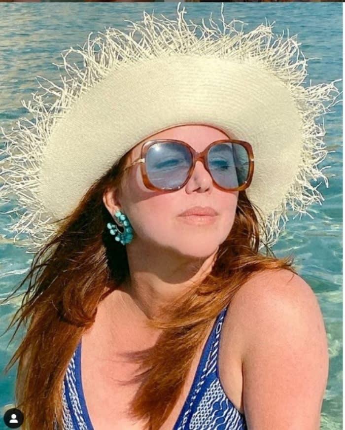María Celeste alberca nadadora