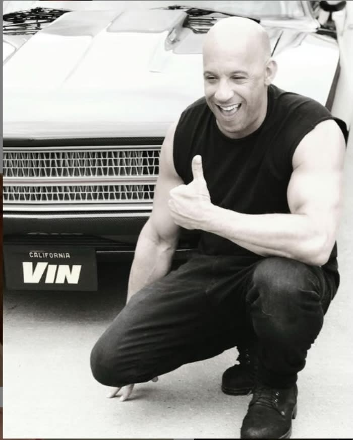 """Vin Diesel saying goodbye to Johnny Ventura: """"Honor to whom honor is due"""""""