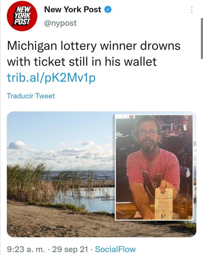 Otro no cobra su premio