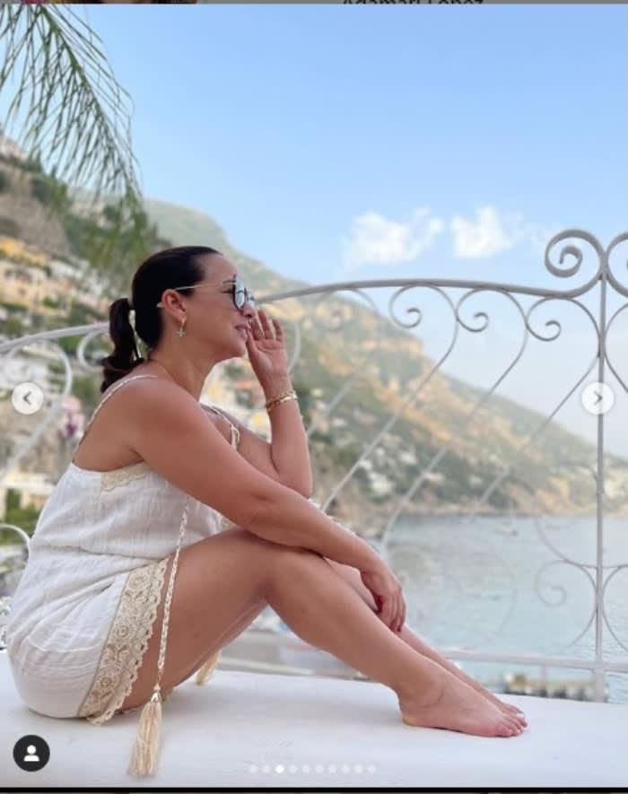Adamari López fotos vacaciones: Sus piernas de infarto