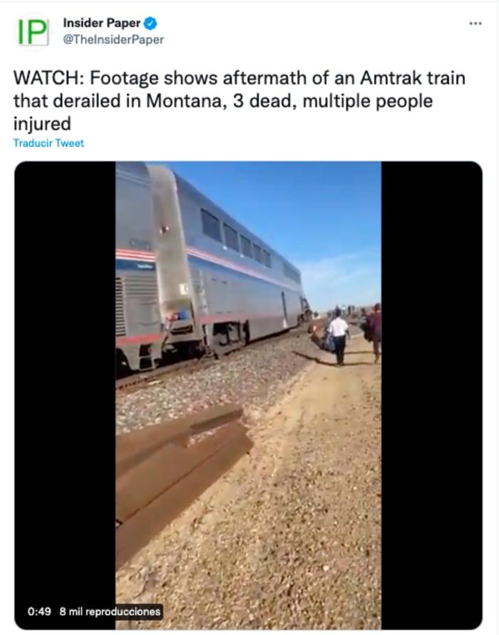 Descarrilamiento de tren