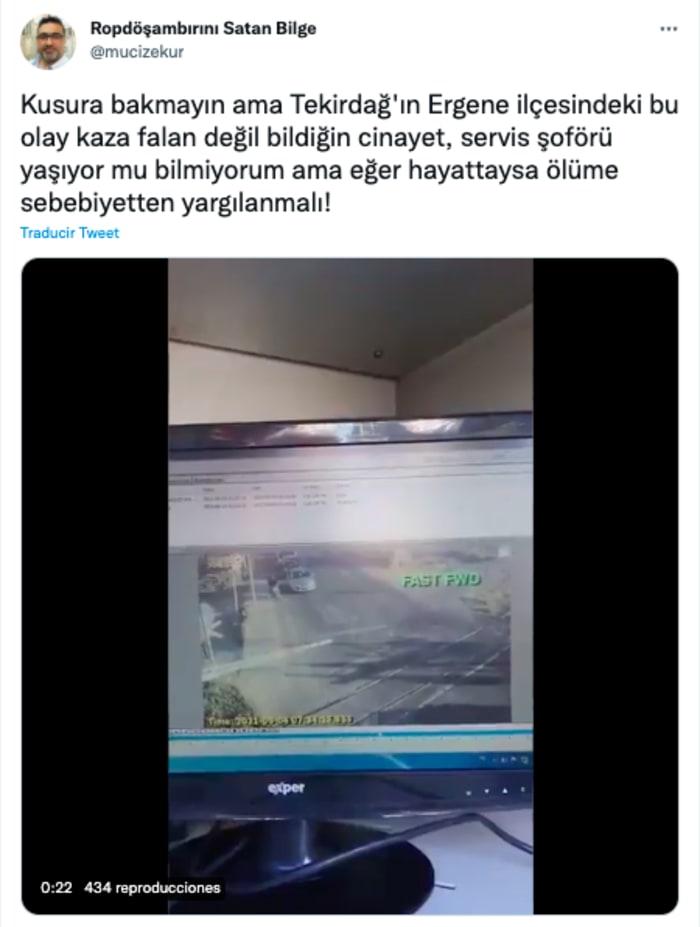 Choque entre tren y minibus en Turquía