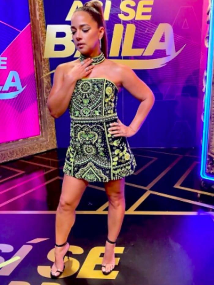 Adamari López vestido