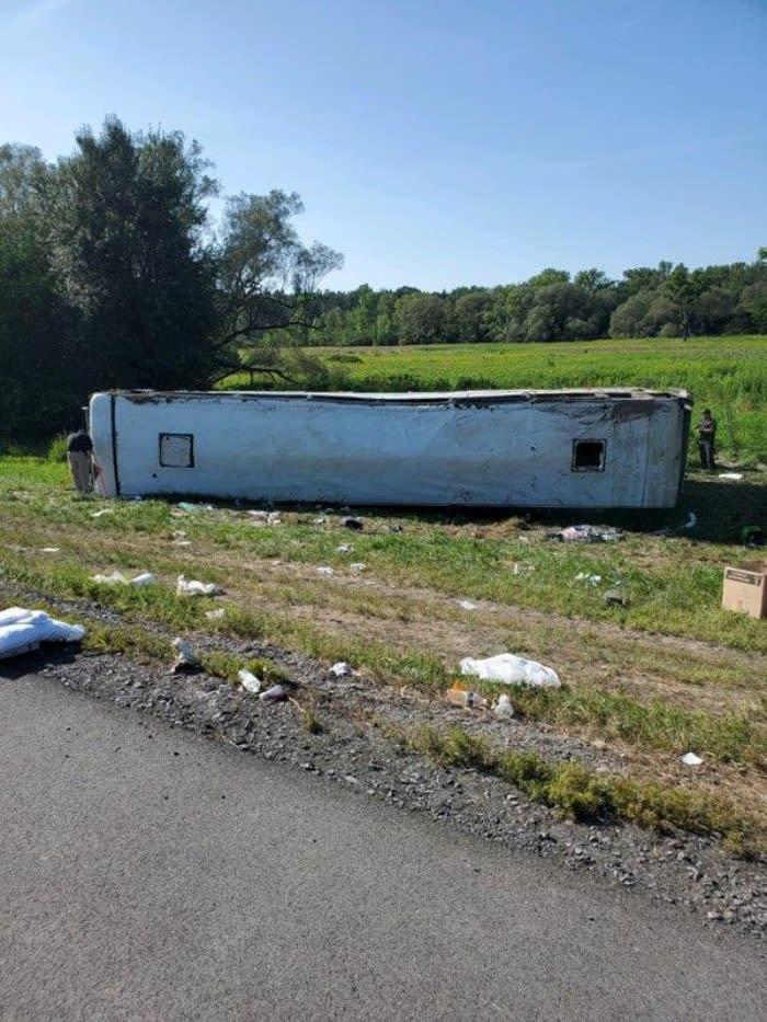 Accidente autobús pasajeros heridos Nueva York: Se dirigía a las Cataratas del Niágara