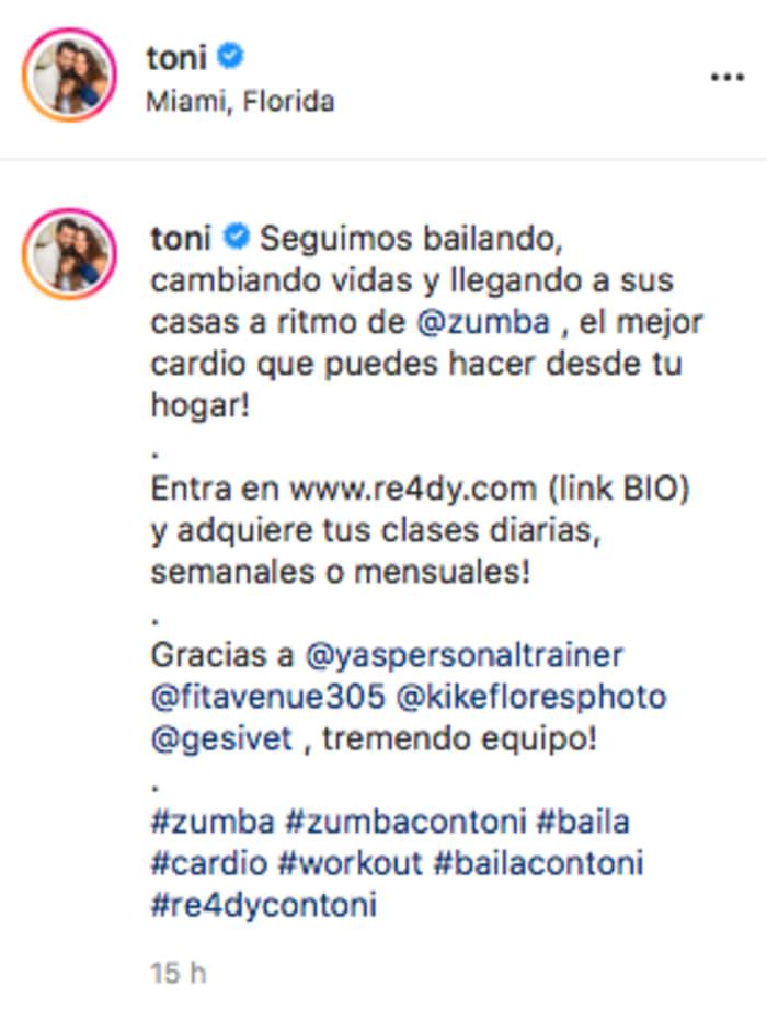 El ex de Adamari López deja de lado los rumores