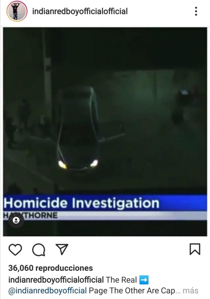 Matan a rapero