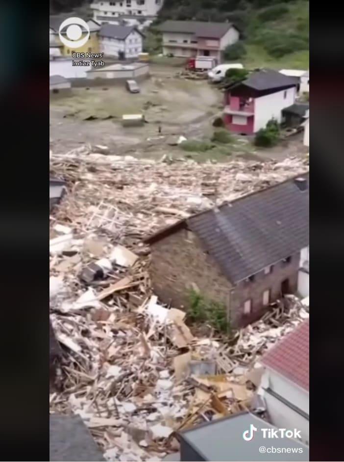 videos devastating floods Europe: The catastrophic floods