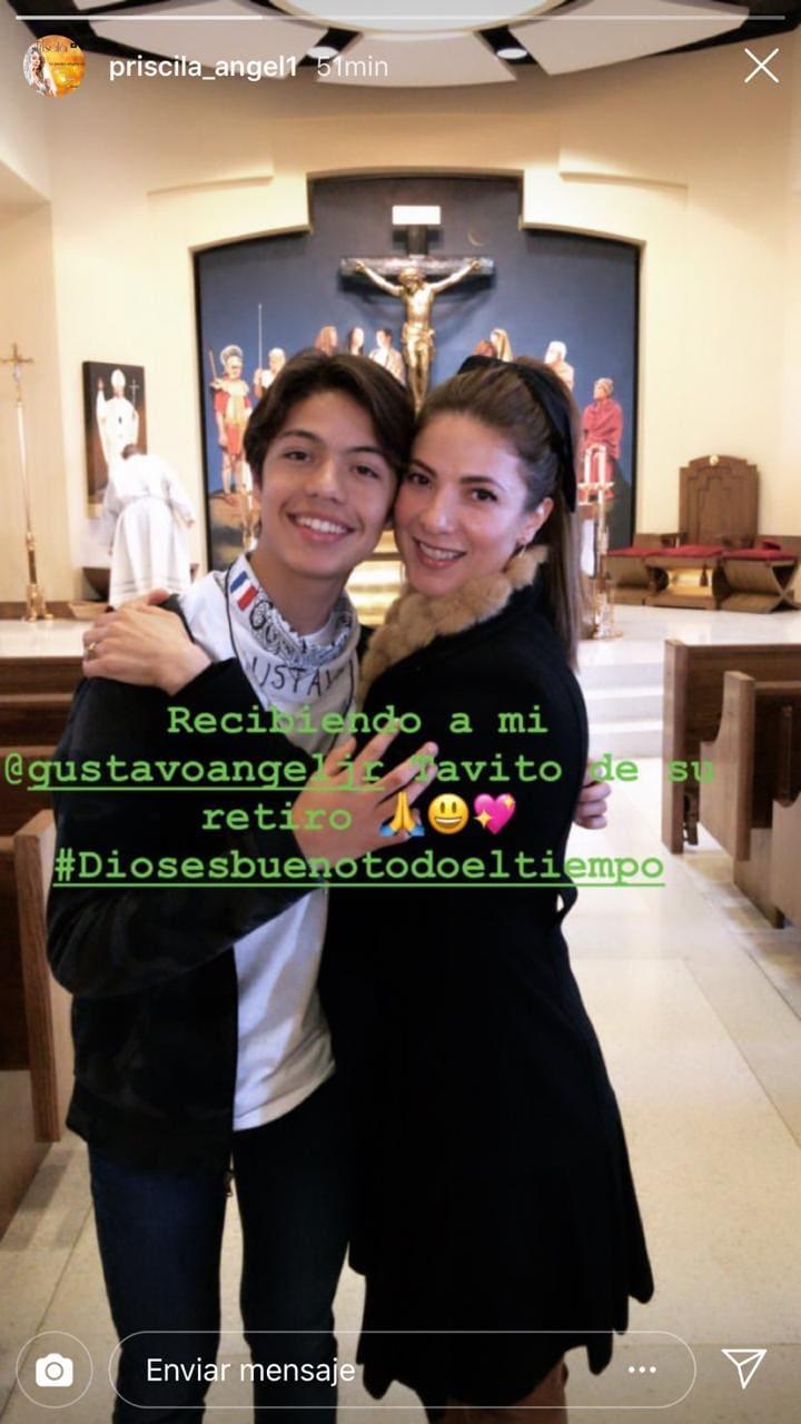 Hijo de Priscila Angel_Instagram