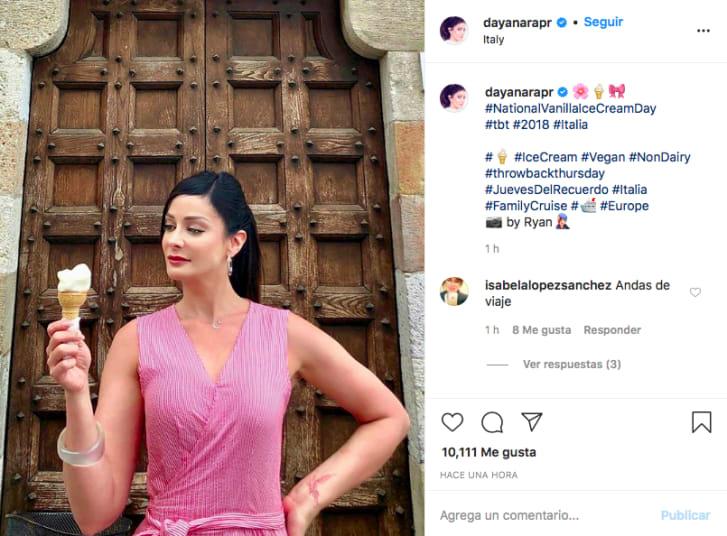 Dayanara Torres cáncer (Instagram)