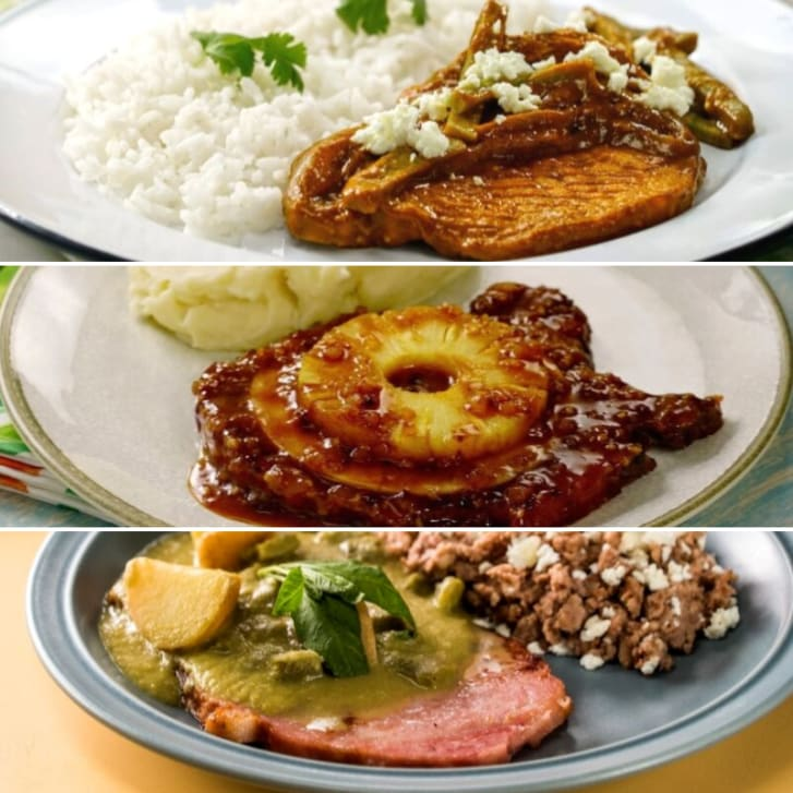 Chuletas de cerdo: te presentamos tres deliciosas recetas