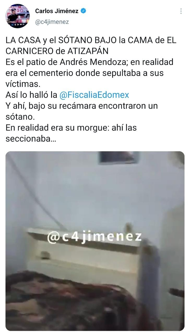 Notas Asesino Serial, feminicida, Atizapán