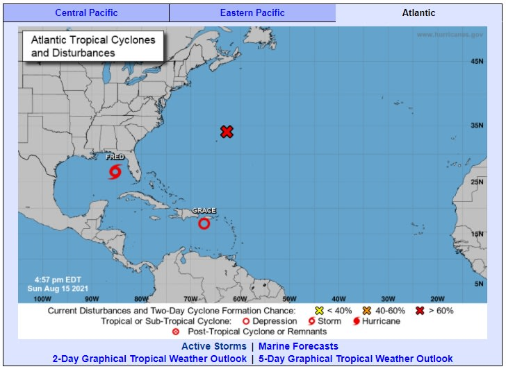 Tras devastador terremoto, tormenta Grace amenaza a Haití, también a Puerto Rico y República Dominicana
