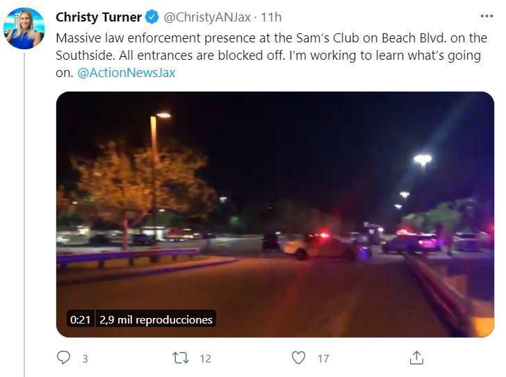 tiroteo en Sam's Club