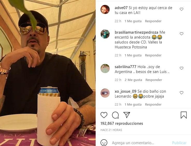 Pepe Aguilar revela intimidad de su hijo Leonardo