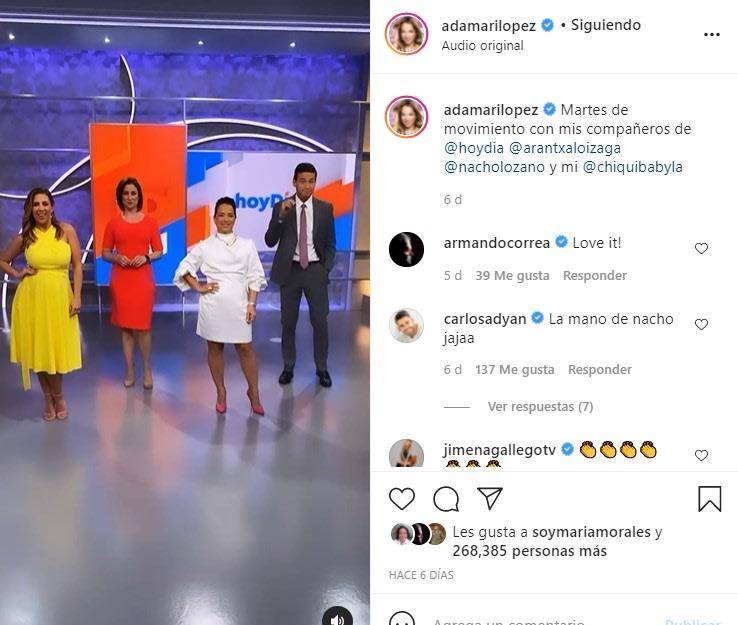 ¿Adamari López deja Hoy Día? La conductora anuncia nuevo proyecto por las mañanas