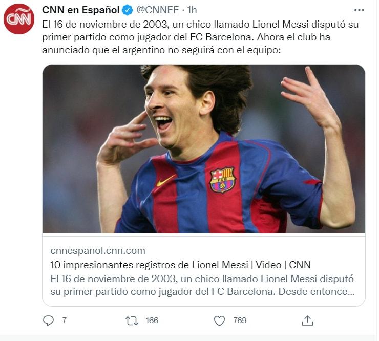 Desde el miércoles se temía el fin de la era de Messi