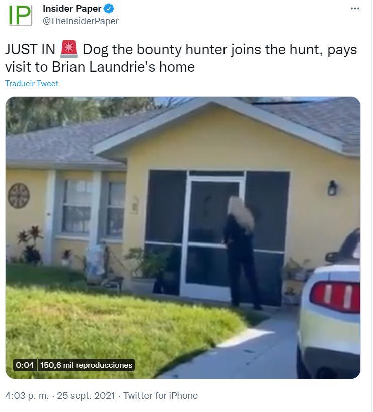 Búsqueda novio Gabby Petito: La especialidad de Dog the Bounty Hunter