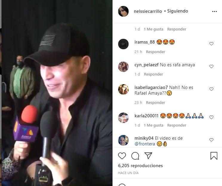 'Se parece a Pancho Barraza', dice el público tras reaparición de Rafael Amaya Rafael Amaya reaparece