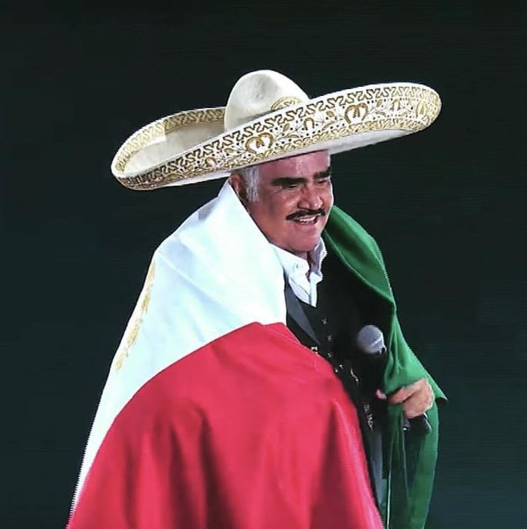 Vicente Fernández mensaje agradecimiento: El mensaje de 'Chente'