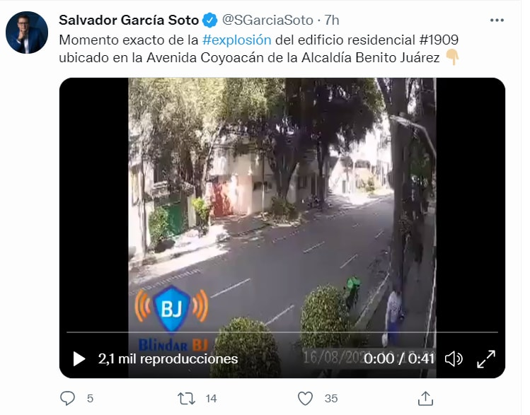 Mexico building explosion video: The information that was released