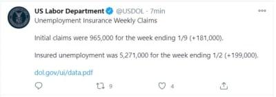 desempleo enero 2021