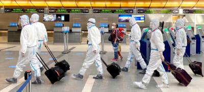OMS Reino Unido, Nueva cepa coronavirus, vuelos