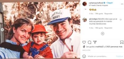 Esposa de Toño Mauri nieta de expresidente