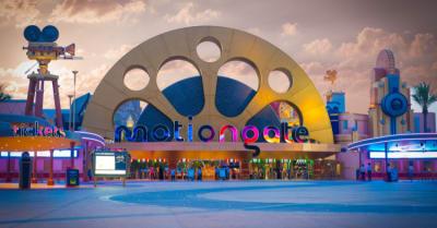 Enternance to Dubai Park and Resorts - MotionGate Dubai