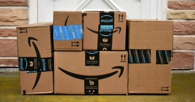 Image of an Amazon packages